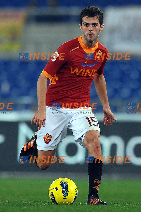 Miralem PJANIC Roma.Roma 20/11/2011 Stadio Olimpico.Football Calcio Serie A 2011/2012.Roma Vs Lecce.Foto Insidefoto Andrea Staccioli