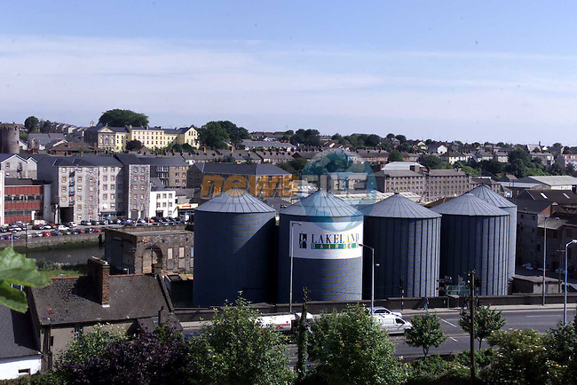 Lakeland Silos on the Marsh Road.Picture Fran Caffrey Newsfile
