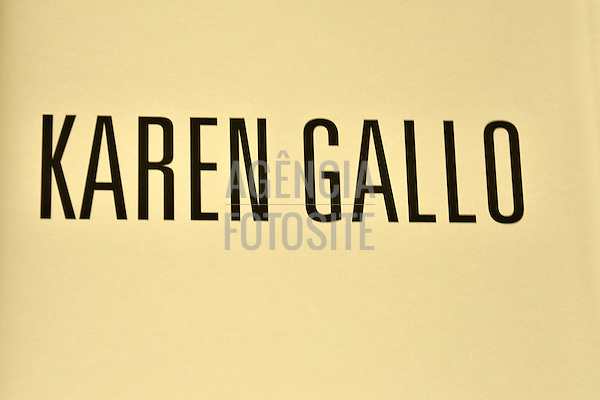 Karen Gallo<br /> <br /> New York -  Verao 2016