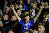 4th December 2017, St. Andrews Stadium, Birmingham, England; EFL Championship football, Birmingham City versus Wolverhampton Wanderers; Birmingham City fans trying to cheer their players on as Wolves take control
