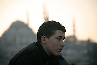 Young man, Istanbul, Turkey