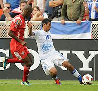 El Salvador Reynaldo Hernadez 19 Makes A Pass Panama Defeated El Salvador In