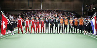 05-03-2005,Swiss,Freibourgh, Davis Cup , Swiss-Netherlands, Openin Ceremony