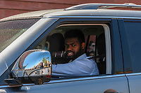 LAS VEGAS, NV - April 29: Malcolm Subban Las Vegas Golden Knights Send Off at City National Arena  in Summerlin, Nevada on April 29, 2018. Credit: Damairs Carter/MediaPunch