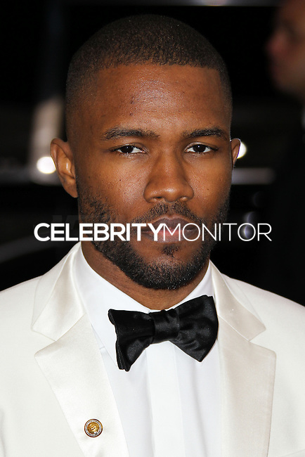 "NEW YORK CITY, NY, USA - MAY 05: Frank Ocean at the ""Charles James: Beyond Fashion"" Costume Institute Gala held at the Metropolitan Museum of Art on May 5, 2014 in New York City, New York, United States. (Photo by Xavier Collin/Celebrity Monitor)"