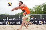 09.05.2015, Muenster, Schlossplatz<br /> smart beach tour, Supercup MŸnster / Muenster, Hauptfeld<br /> <br /> Annahme Bjoern Andrae<br /> <br />   Foto &copy; nordphoto / Kurth