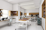 After: Rendering of the new Textiles Conservation Laboratory, 2008. Image courtesy of Aniphase
