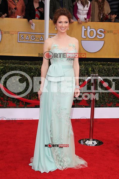 LOS ANGELES, CA - JANUARY 27: Ellie Kemper at The 19th Annual Screen Actors Guild Awards at the Los Angeles Shrine Exposition Center in Los Angeles, California. January 27, 2013. Credit: mpi27/MediaPunch Inc. /NortePhoto /NortePhoto
