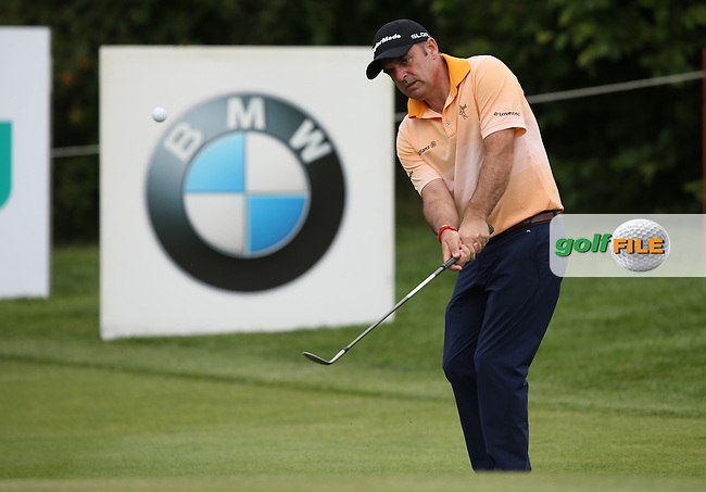 Paul McGinley (IRL) day was thwart with bogeys on the back nine during Round Two of the BMW International Open 2014 from Golf Club Gut Lärchenhof, Pulheim, Köln, Germany. Picture:  David Lloyd / www.golffile.ie