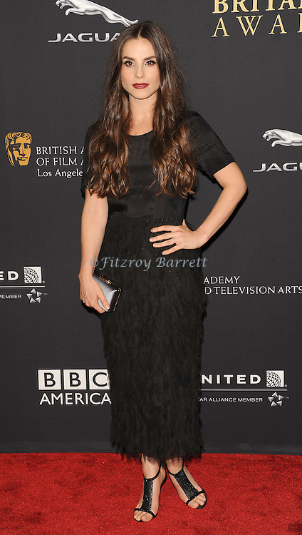 Charlotte Riley attending the 2014 BAFTA Los Angeles Jaguar Britannia Awards Presented BY BBC America, held at The Beverly Hilton Hotel Beverly Hills, CA. October 30, 2014.