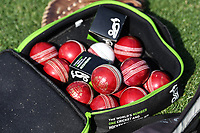 30th November 2019, Hamilton, New Zealand;  Cricket balls on day 2 of 2nd test match between New Zealand and England,  International Cricket at Seddon Park, Hamilton, New Zealand.  - Editorial Use