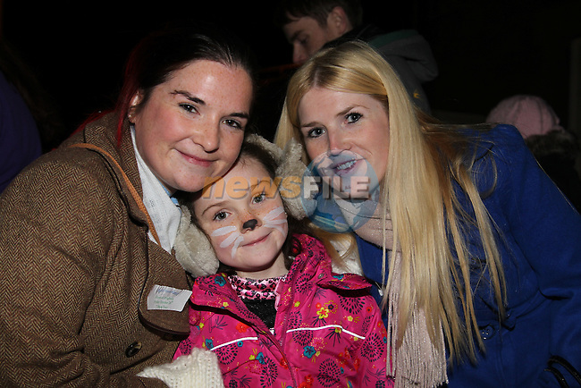 Lauren aiobhen roisin McGeogh.at the walking ghost tours in Millmount..Picture: Fran Caffrey/www.newsfile.ie.