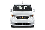 Car photography straight front view of a2015 Chevrolet City Express LT 5 Door Cargo Van Front View
