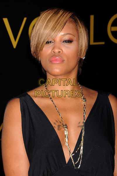 "EVE.Cartier's 3rd Annual ""Love Day"" Celebration at a Private Residence in Bel Air, Los Angeles, California, USA..June 18th, 2008.headshot portrait black gold necklace tattoos  .CAP/ADM/BP.©Byron Purvis/AdMedia/Capital Pictures."