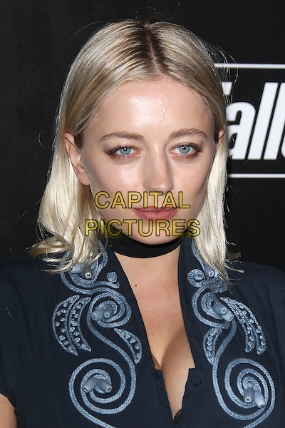 LOS ANGELES, CA - NOVEMBER 5: Caroline Vreeland at the Fallout 4 video game launch event in downtown Los Angeles on November 5, 2015 in Los Angeles, California. <br /> CAP/MPI21<br /> &copy;MPI21/Capital Pictures