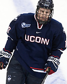 Evan Richardson (UConn - 19) - The Boston College Eagles defeated the visiting UConn Huskies 2-1 on Tuesday, January 24, 2017, at Kelley Rink in Conte Forum in Chestnut Hill, Massachusetts.