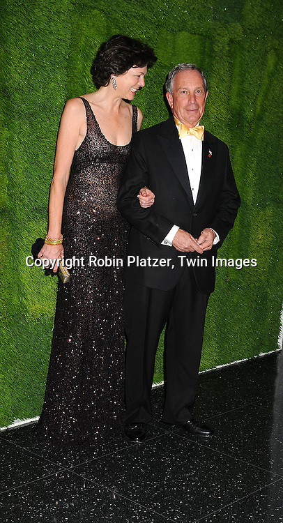 Mayor Michael Bloomberg and Diana Taylor..arriving at The Museum of Modern Art's 40th Annual Party in the Garden on June 10, 2008 in New York City. ....Robin Platzer, Twin Images