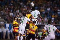 HEMPSTEAD, NY – AUGUST 3: The New York Cosmos home opener against the Fort Lauderdale Strikers on August 3, 2013 at Hofstra University's Shuart Stadium in Hempstead, New York.
