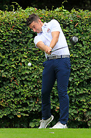 Keith Fitzpatrick (Kinsale) on the 18th tee during the AIG Barton Shield Munster Final 2018 at Thurles Golf Club, Thurles, Co. Tipperary on Sunday 19th August 2018.<br /> Picture:  Thos Caffrey / www.golffile.ie<br /> <br /> All photo usage must carry mandatory copyright credit (&copy; Golffile | Thos Caffrey)