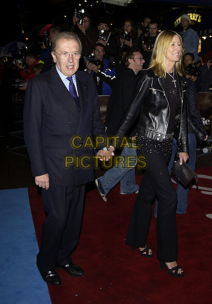 "SIR DAVID FROST.""Alfie"" film premiere.Empire cinema, Leicester Square.14 October 2004..full length .Ref: PL.www.capitalpictures.com.sales@capitalpictures.com.©Capital Pictures."