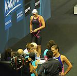 19.08.2014, Velodrom, Berlin, GER, Berlin, Schwimm-EM 2014, im Bild 200m Backstroke - Women, Jenny Mensing (GER)<br />               <br /> Foto &copy; nordphoto /  Engler