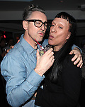 Alan Cumming & Joey Arias attending the Liza Minnelli 67th Birthday Celebration at the Copa in New York City on 3/13/2013..