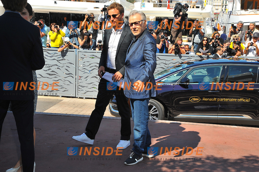 CANNES, FRANCE - MAY 20: Harvey Keitel attends the 'Youth' Photocall during the 68th annual Cannes Film Festival on May 20, 2015 in Cannes, France <br /> Festival del Cinema di Cannes 2015<br /> Foto Panoramic / Insidefoto