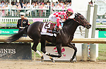 May 03, 2019 :#13 Serengeti Empress and jockey Jose Ortiz win the 145th running of the Longines Kentucky Oaks Grade 1 $1,250,000 for owner Joel Politi and trainer Thomas Amoss at Churchill Downs on May 03, 2019.  Candice Chavez/ESW/CSM