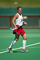 30 August 2005: Jamie Hais during Stanford's 5-1 loss to Delaware at the Varsity Turf Field in Stanford, CA.