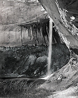 """Sunbeam on Upper Calf Creek Falls""<br />