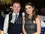 Darragh Brodigan and Isobelle McDonnell at the St. Colmcilles gala ball in City North hotel. Photo:Colin Bell/pressphotos.ie