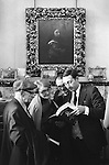 Sothebys at Mentmore Towers. Sothebys auction the contents of this stately home belonging to the 7th Earl of Rosebery. 1977..