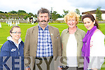 Having fun at the Killorglin Pony show on Sunday was l-r: Louise Ahern, John Cronin, Joan O'Riordan and Grainne Cronin Killorglin.