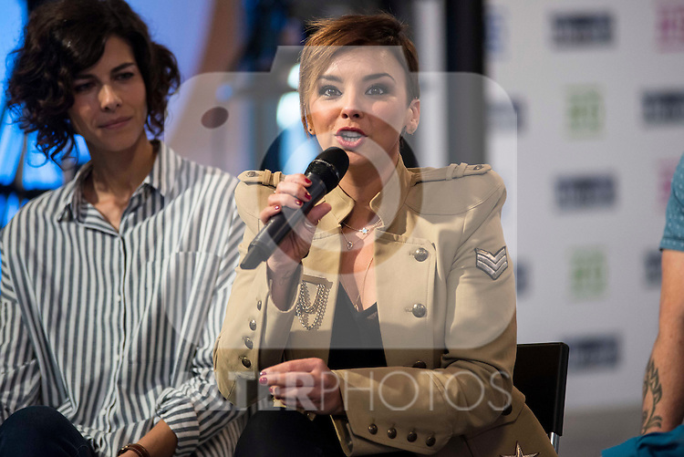 Chenoa during the presentation of the new TV program to Movistar+,  &quot; Likes &quot; at 7 y accion studios in Madrid. January 27, 2016.<br /> (ALTERPHOTOS/BorjaB.Hojas)