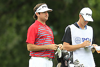 Bubba Watson (USA) on the 8th tee during Thursday's Round 1 of the 2014 PGA Championship held at the Valhalla Club, Louisville, Kentucky.: Picture Eoin Clarke, www.golffile.ie: 7th August 2014