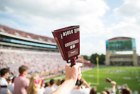 Cowbell ringing inside of Davis Wade Stadium. (photo by Keats Haupt / © Mississippi State University)