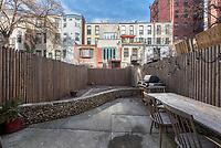 Patio Garden at 209 West 121st Street