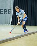Almere - Zaalhockey  SCHC-Laren  . Robbert van de Peppel  (laren)  TopsportCentrum Almere.    COPYRIGHT KOEN SUYK