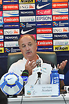 Bunyodkor head coach Felipe Scolari attends the press conference during  Bunyodkor vs Al-Wahda as part of the 2010 AFC Champions League Group B on April 28, 2010 at the JAR Stadium, Tashkent, Uzbekistan. Photo by World Sport Group