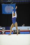 14.10.2009.World Gymnastics Champion ships at the O2 Arena London.Womens  Qualifying Competition.