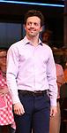 Jason Mraz as Sara Bareilles returns to Broadway's 'Waitress'  at the Brooks Atkinson Theatre on January 16, 2018 in New York City.