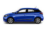 Car driver side profile view of a 2019 Hyundai i20 Twist 5 Door Hatchback