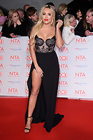 Amber Turner at the National Television Awards 2018 at the O2 Arena, Greenwich, London, UK. <br /> 23 January  2018<br /> Picture: Steve Vas/Featureflash/SilverHub 0208 004 5359 sales@silverhubmedia.com