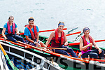 L-R Siobhan Goodwin, Breda&Eileen Quirke with Ailish Deane racing for Camp during the Brandon regatta last Sunday.