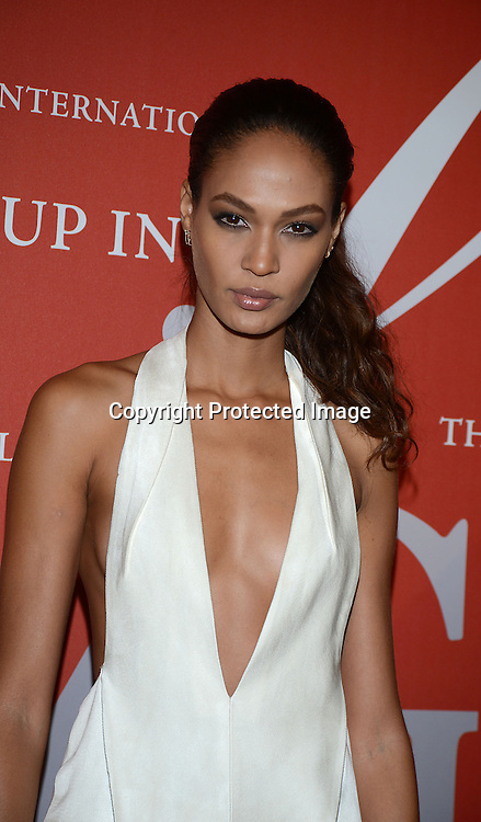 Joan Smalls attends the Fashion Group International's Night of Stars Gala on October 22, 2013 at Cipriani Wall Street in New York City.