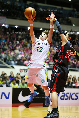 Asami Yoshida (Sunflowers), <br /> JANUARY 12, 2014 - Basketball : <br /> All Japan Basketball Championship 2014 <br /> Empress's Cup Final <br /> between JX-ENEOS Sunflowers 69-61 TOYOTA Antelopes <br /> at 1st Yoyogi Gymnasium, Tokyo, Japan. <br /> (Photo by YUTAKA/AFLO SPORT) [1040]