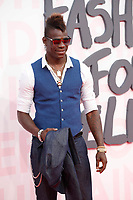 Mario Balotelli attends Fashion for Relief Cannes 2018 during the 71st annual Cannes Film Festival at Aeroport Cannes Mandelieu on May 13, 2018 in Cannes, France.<br /> CAP/GOL<br /> &copy;GOL/Capital Pictures