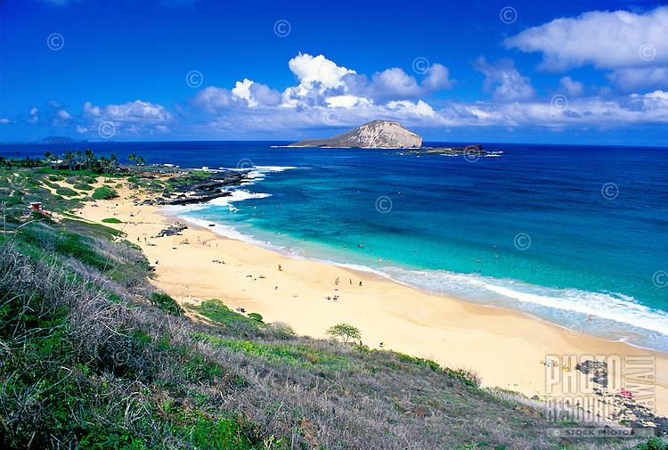 Makapuu Beach, east coast, Oahu