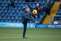 Wycombe Wanderers Assistant Manager Richard Dobson ahead of the Sky Bet League 2 match between Wycombe Wanderers and Newport County at Adams Park, High Wycombe, England on 2 January 2017. Photo by Andy Rowland.