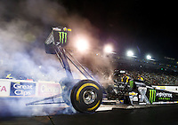 Jul 29, 2016; Sonoma, CA, USA; NHRA top fuel driver Brittany Force during qualifying for the Sonoma Nationals at Sonoma Raceway. Mandatory Credit: Mark J. Rebilas-USA TODAY Sports